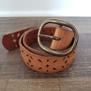 Fossil Embossed Belt Size Small